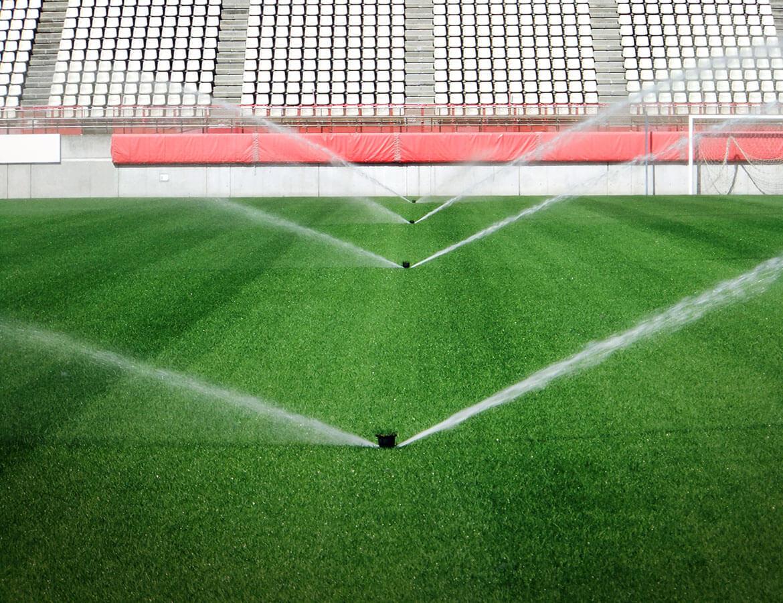 hortek urejanje okolja svetovanje namakalni sistemi - profesionalna ureditev nogometnih igrisc